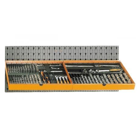 souprava 306 nástrojů, s háky bez panelu