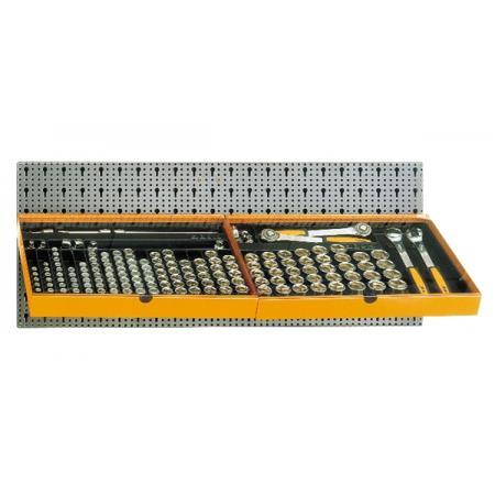 souprava 163 nástrojů,  s háky bez panelu