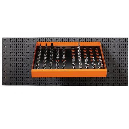 souprava 58 nástrojů,  s háky bez panelu