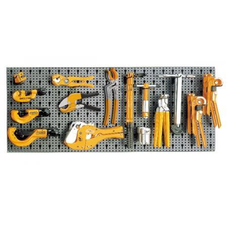 souprava 36 nástrojů,  s háky bez panelu