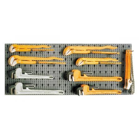 souprava 18 nástrojů,  s háky bez panelu
