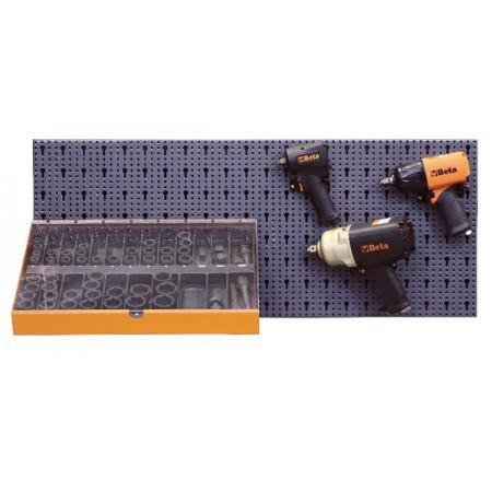 souprava 63 nástrojů,  s háky bez panelu
