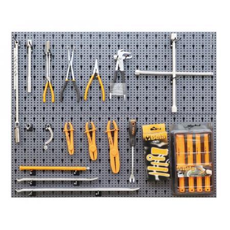 souprava 58 nástrojů  s háčky bez panelu