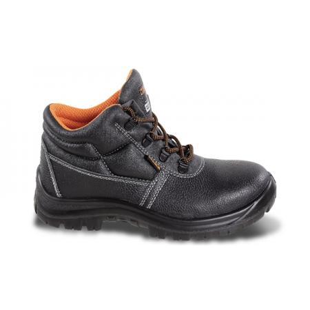 kožená kotníková bota, vodotěsná,  bez špičky a stélky odolné proti penetraci