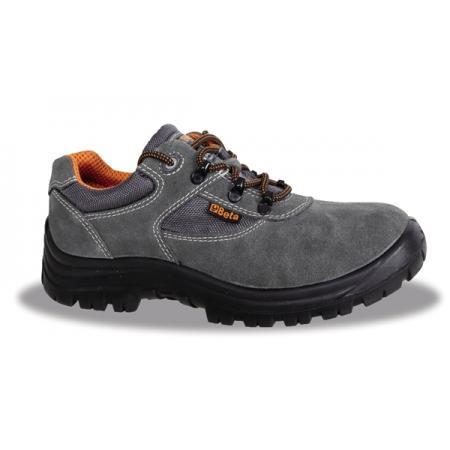 semišové boty se síťovou vložkou