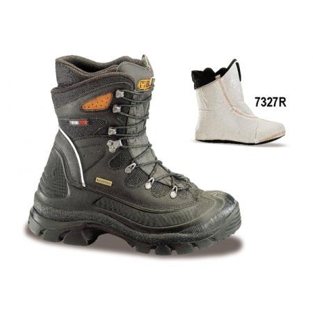 """bota z mazané přírodní kůže, styl """"Polar"""", vodotěsná"""