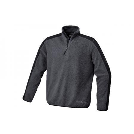 flísový pulovr s polyesterovými vložkami