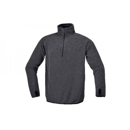 mikroflísový svetr, s krátkými rukávy
