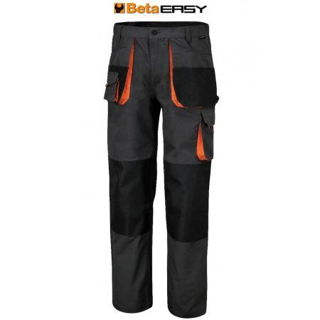 pracovní kalhoty, styl s více kapsami, v celtovině T/C, 260 g/m2, vložky Oxford, šedé