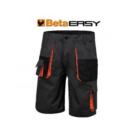pracovní šortky v celtovině T/C, 260 g/m2, šedé