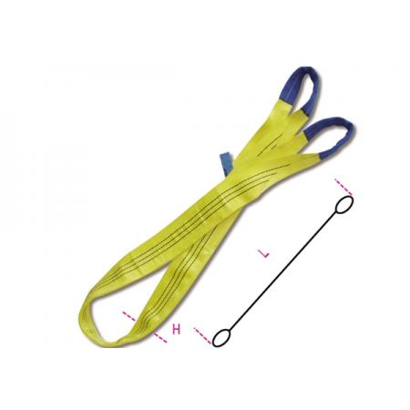 tkané smyčky, žluté 3 t pás z vysoce pevného polyesteru (PES)